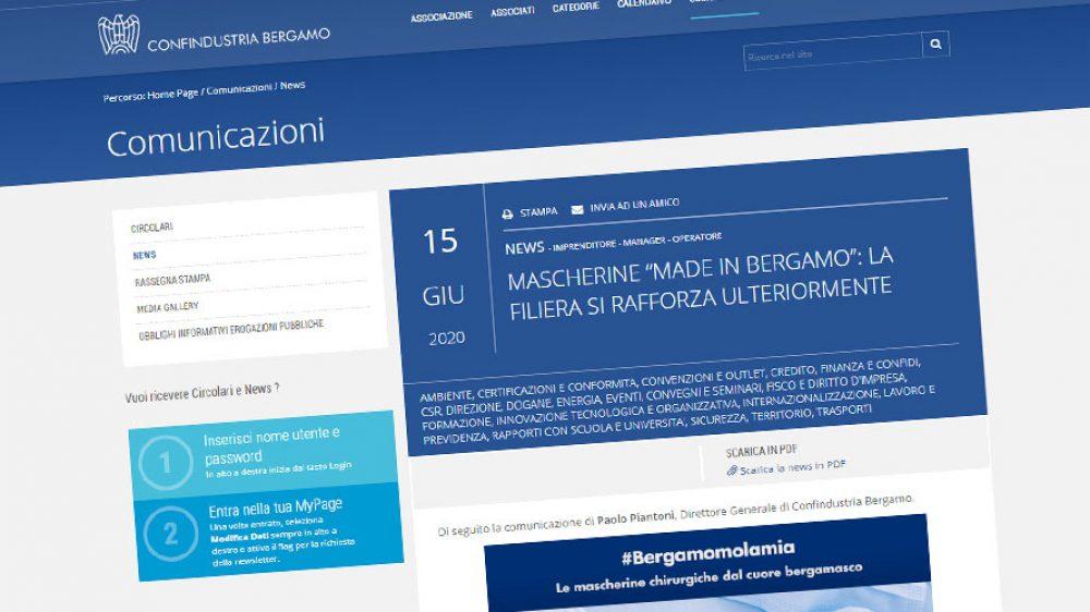 Maglificio Ghidotti e Confindustria Bergamo